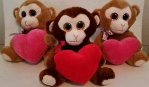 Personalized Valentine's day stuffies . Any name , any date,