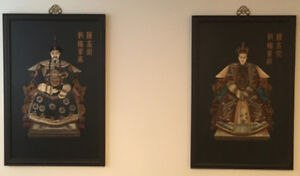 Vintage Chinese Portraits / Portraits Chinois