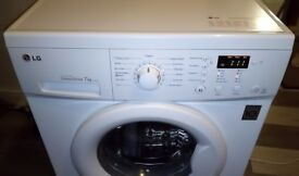LG 1400rpm 7kg Direct Drive Washing Machine - Can Deliver
