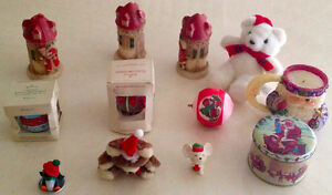 Vintage Hallmark Christmas Ornaments and Candles. Sarnia Sarnia Area image 1