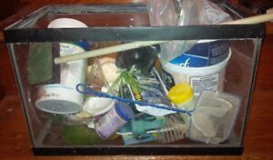 Small tank & other fish supplies