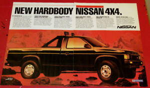 COOL 1987 NISSAN 4 X 4 PICKUP TRUCK SE AD - RETRO CAMION PUB