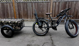 eRanger Full Suspension electric bike fat bike hunting bike