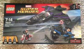 Lego Superheroes Black Panther Pursuit New