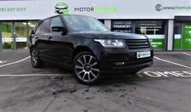 Land Rover Range Rover SDV8 AUTOBIOGRAPHY ** FINANCE AVAILABLE * NO DEPOSIT **