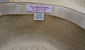 Filippo Catarzi - Floppy Brim Beach Hat - Beige Kitchener / Waterloo Kitchener Area image 2