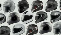 motorcycle helmets---many to choose from