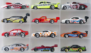 Lot of 12 misc race car Hot Wheels diecast cars 1:64