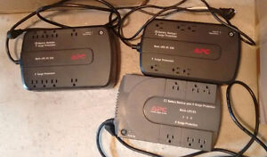 Three APC UPS battery units