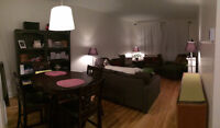 Spacious yet cozy 3 1/2 for Mar. 1 - URGENT LEASE TRANSFER