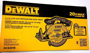 DEWALT 20V MAX Li-Ion Circular Saw (Tool Only)  Model # DCS391B Kitchener / Waterloo Kitchener Area image 1