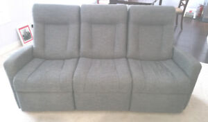 Palliser Powered Recliner Couch and Swivel Rocker Chair