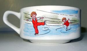 Large Decorative Soup Cups, set of 5