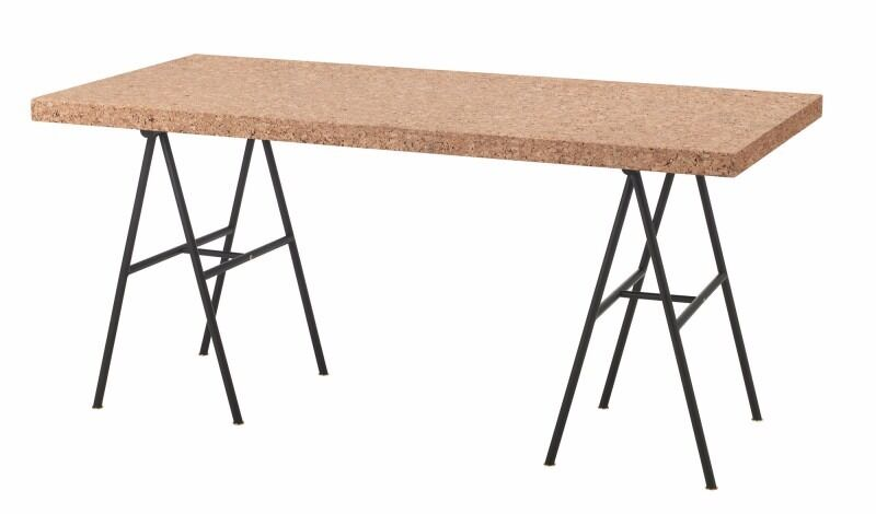 Captivating Ikea Sinnerlig Cork Table Top