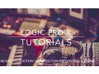 Music Production Lessons - FREE TRIAL - LOGIC PRO X Tuition - Composition - Recording - Mixing