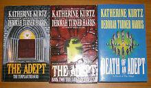 "4 x ""Adept"" series by Katherine Kurtz & Deborah T Harris ~NEW & U Thornlie Gosnells Area Preview"