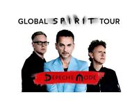 2 Depeche Mode London 3rd June Standing Tickets