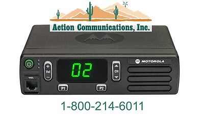 New Motorola Cm200d Digitalanalog Vhf 136-174 Mhz 45 Watt 16 Ch 2-way Radio
