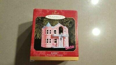 1999 Hallmark Keepsake Christmas Ornament Barbie Pink Dream House Mint