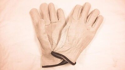 - GRAIN PIGSKIN DRIVERS GLOVE UNLINED WITH KEYSTONE THUMB SIZE EXTRA LARGE 6364-XL