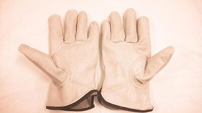(GRAIN PIGSKIN DRIVERS GLOVE UNLINED WITH KEYSTONE THUMB SIZE SMALL 6364-S)