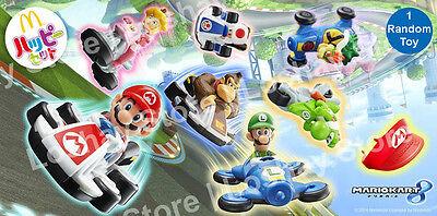 Princess Peach Luigi (NEW MARIO KART 8 McDonalds Princess Peach Luigi Browser Donkey Kong Racing 1)