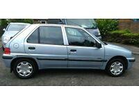 2003 Peugeot 106 1.1 petrol 12 months mot. Vgc