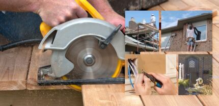 Carpentry, Renos, Home repairs and Hanydman services available