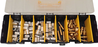 "Hose Repair Kit with Ferrules, Barbs for 3/8"" Inside Diameter Hose (no crimper)"