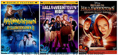 Complete Disney Halloweentown Series 1 2 3 & 4 Movie Pack Halloween DVD Bundle (Halloweentown 4)