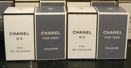(2) Chanel No. 5 Eau De Cologne And Chanel For Men Cologne .25 oz. Packs NIB