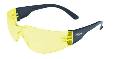 Global Vision Rider Yellowmirrored Lens Safety Glasses Sun Motorcycle Z87