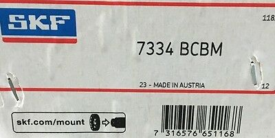 7334-bcbm Skf Angular Contact Bearing