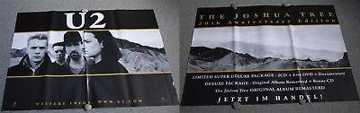 RIESENPOSTER - U2 : The Joshua Tree.  Zweiteilig, Doppel A0 - 2 Riesen Poster