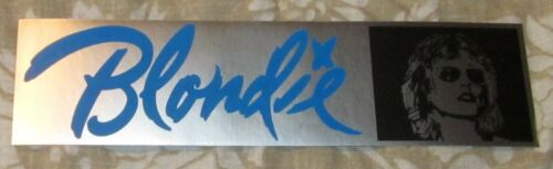 RARE ORIGINAL BLONDIE PHOTO MUSIC/CONCERT BUMPER STICKER/DECAL
