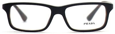 Prada Damen Herren Brillenfassung PR06SV UBH-1O1 54mm schwarz matt eckig 106 13