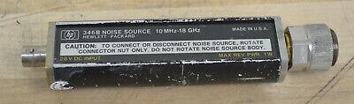 Hp Agilent 346b Noise Source 10mhz-18ghz 15db Enr Guaranteed Good Opt 002 Apc7