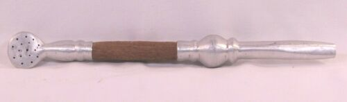 """Antique Tea Infuser Strainer Drinking Straw Pipe 9"""""""