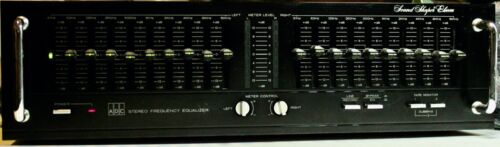 *VINTAGE* ADC Stereo Frequency Equalizer ~ Sound Shaper ELEVEN