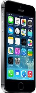 Bell/Virgin iPhone 5S 16GB Space-Grey in Very Good condition