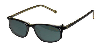 NEW SMARTCLIP 914 PLASTIC ARMS EYEGLASS FRAME/GLASSES POLARIZED CLIP-ON (Plastic Eyeglass Lenses)
