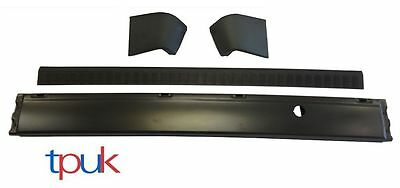 TRANSIT CONNECT REAR BUMPER AND BUMPER COVER WITH END CAPS 2002-2009