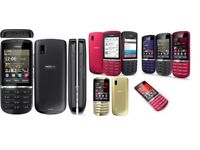 new condition Nokia Asha 300 5MP Tocuh & Type 3G Unlocked Phone Multiple Colours