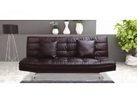 *14/DAYS/CASH/BACK/GUARANTY* BRAND NEW EXTRA PADDED LARGE 3 SEATER SOFA BED WITH SAME DAY DELIVERY