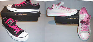 Converse-Chuck-Taylor-CT-Women-Double-Tongue-Ox-Shoes-SIZES-COLORS-NIB