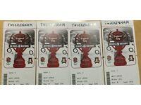 England vs Italy Twickenham 2017 tickets