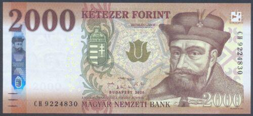 Hungary 2000 Forint 2020 UNC