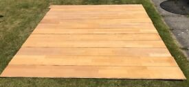 SOLID WOOD FLOOR - CANADIAN MAPLE 44 LENGTHS