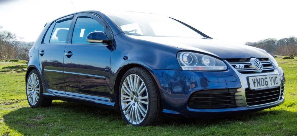 VW GOLF R32 DSG