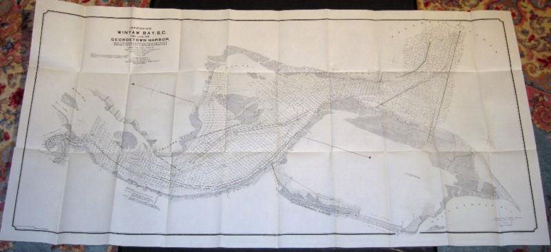 """Improving Winyaw Bay S.C. Including Georgetown Harbor"""